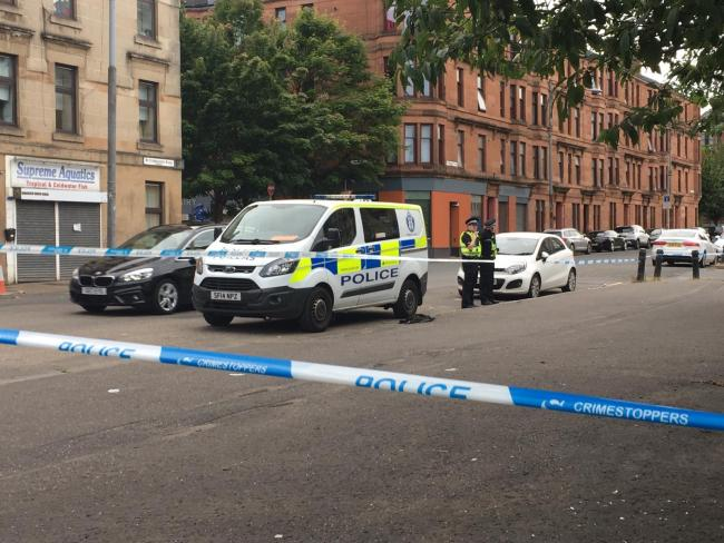 Police race to Govanhill as two men found injured in street