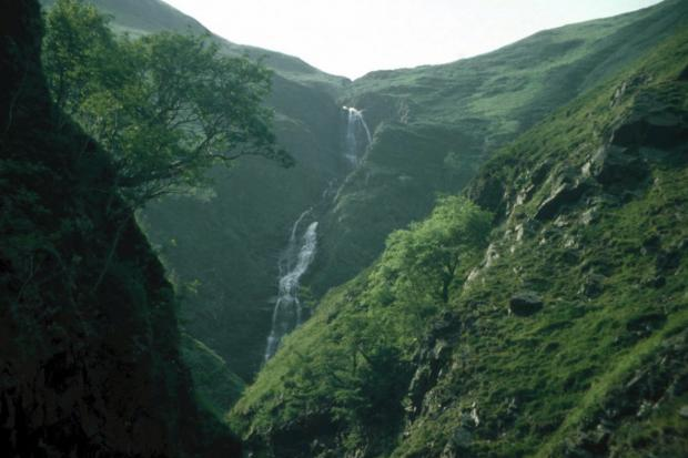 Glasgow Times: Grey Mare's Tail. Picture: National Trust for Scotland