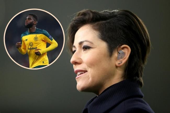 Sky Sports host Eilidh Barbour pokes fun at herself flubbing 'Edsonne Odouard' during live broadcast