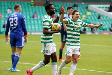 Lubomir Moravcik: Odsonne Edouard can reach Henrik Larsson's level and walk into EPL top four, but only if he stays at Celtic for now