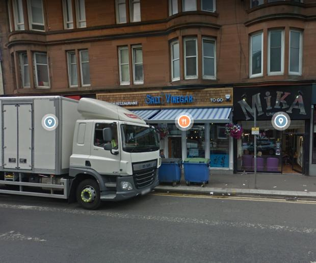 Glasgow Times: Salt and Vinegar on Pollokshaws Road
