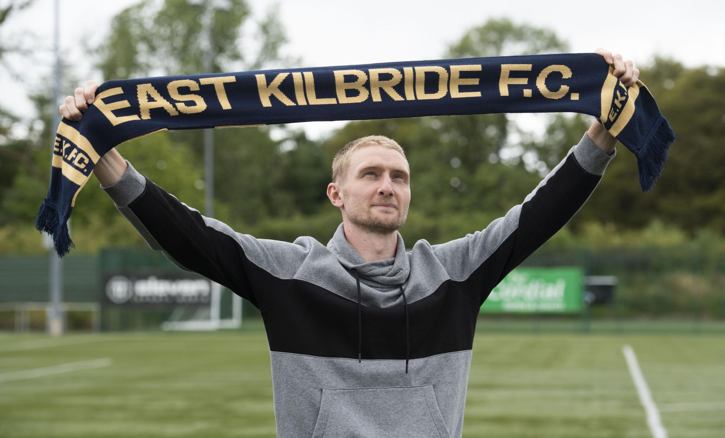 Chris Erskine ambitious as ever as midfielder embarks on a new chapter with East Kilbride