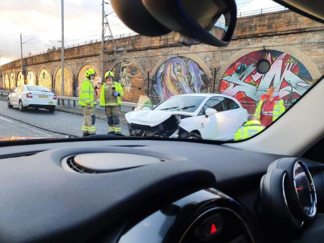 Drivers advised to avoid Clydside Expressway after another crash
