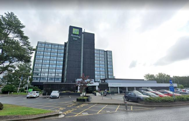 Staff at the Holiday Inn are set to lose their jobs