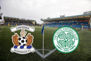 Kilmarnock 1-1 Celtic as it happened: Chris Burke levels from spot after Ryan Christie opener