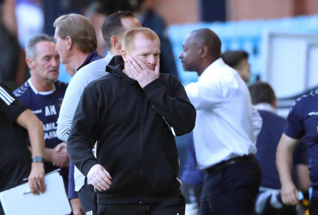 Neil Lennon said his entire side were lacking sharpness after the draw at Kilmarnock.