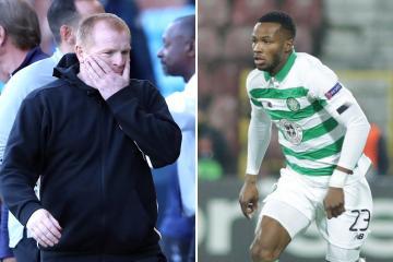 Neil Lennon hints that Boli Bolingoli's Celtic career is over