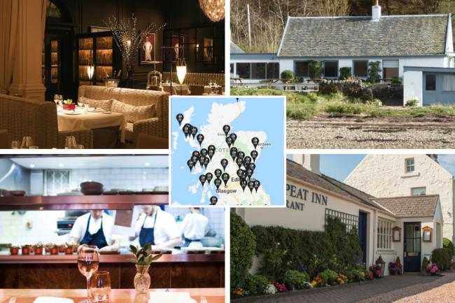 The seven best restaurants in Scotland according to the Good Food Guide