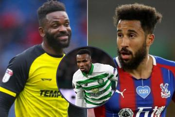 Celtic's Boli Bolingoli blasted by Premier League stars Townsend and Bent over 'schoolboy' rule break