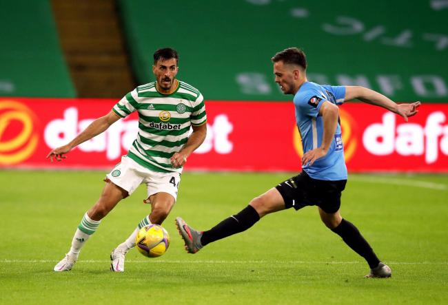 Hatem Elhamed is back to full fitness at last for Celtic.
