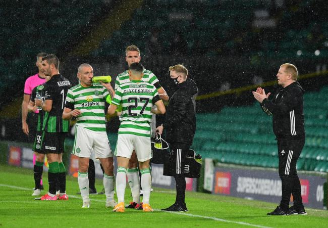 Neil Lennon has rallied his players after the Champions League exit to Ferencvaros.