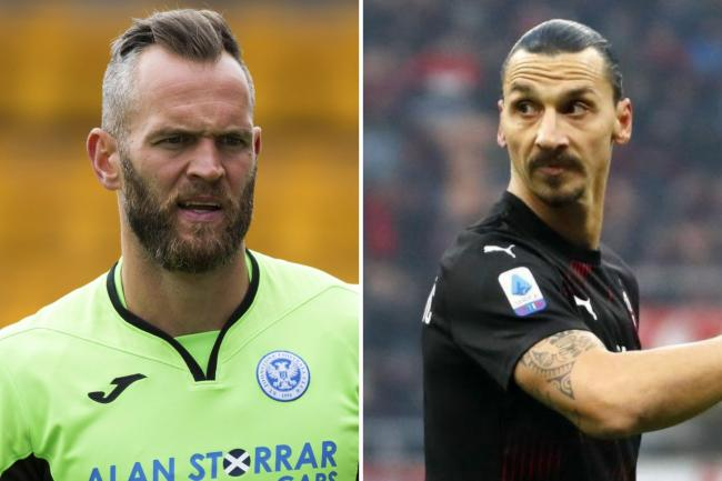 Former St Johnstone goalkeeper Alan Mannus relishing chance to test himself against AC Milan and  Zlatan Ibrahimovic