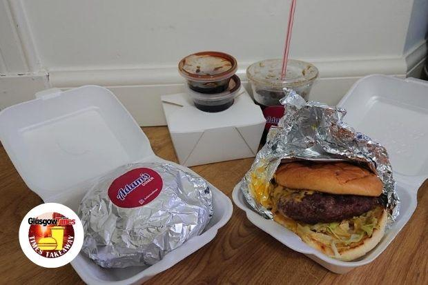 The Adam's burgers impressed our reviewer