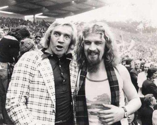 Bill with Billy Connolly