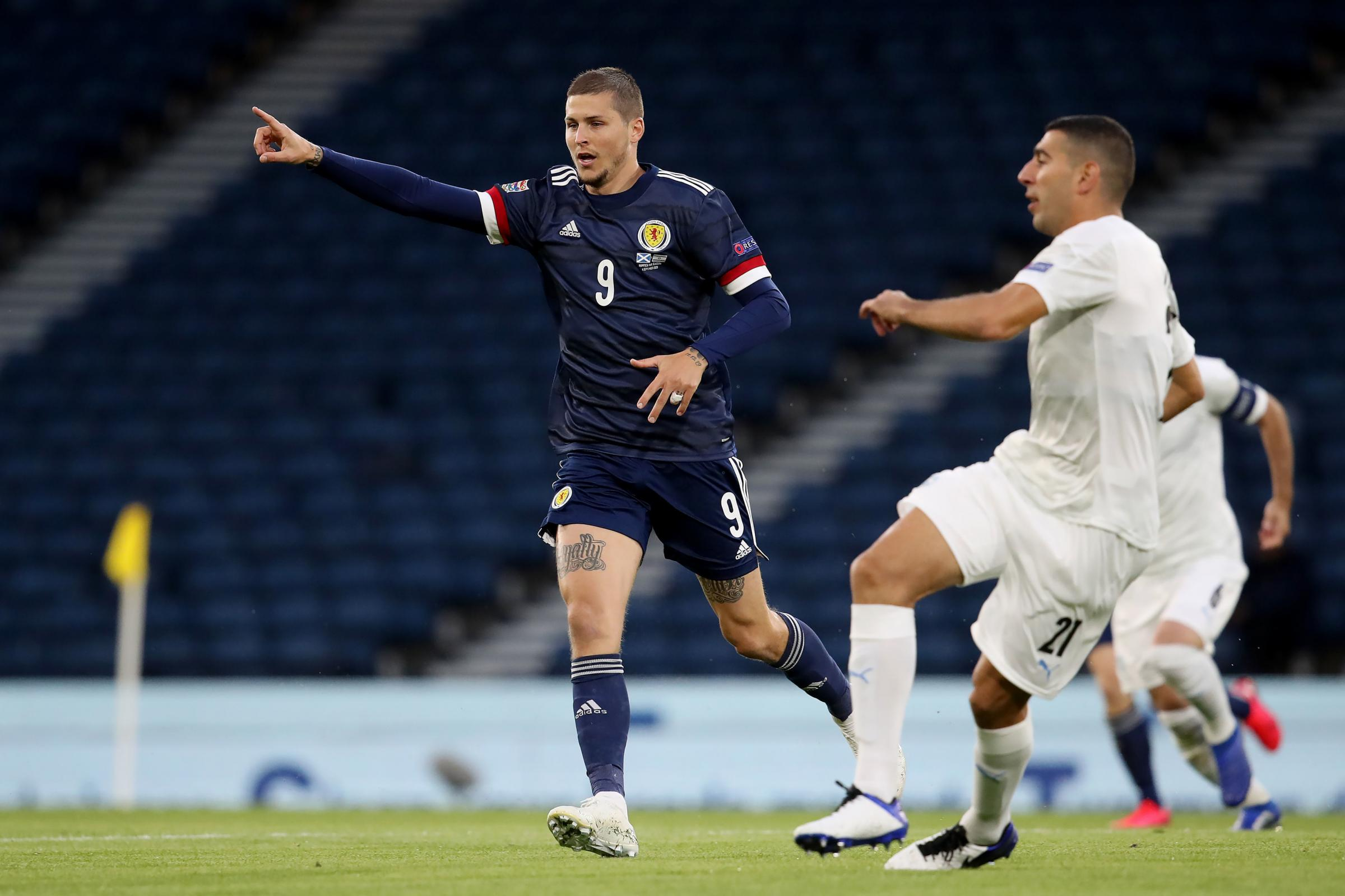Scotland 1 Israel 1: Lyndon Dykes passes interview for one of the loneliest roles in football