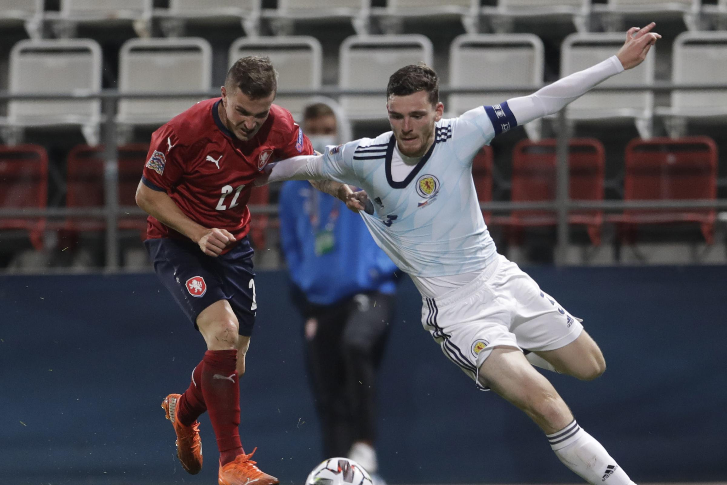 Andy Robertson urges Tartan Army to look on the bright side and back Scotland for the Euros