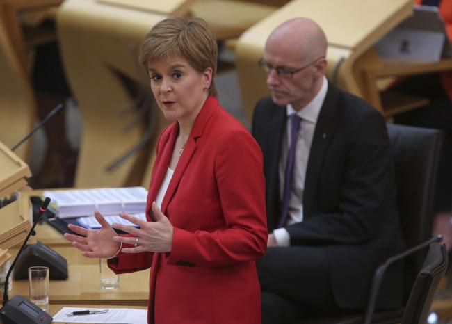Coronavirus: Nicola Sturgeon announces a phased re-opening form April