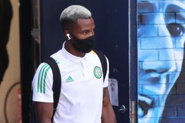 Celtic loan star Boli Bolingoli forced off injured in Istanbul Besaksahir Champions League clash vs RB Leipzig