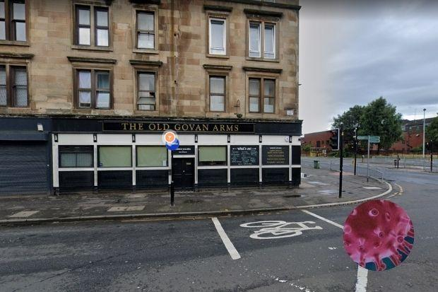 The Old Govan Arms, on Govan Road, has closed for a deep clean