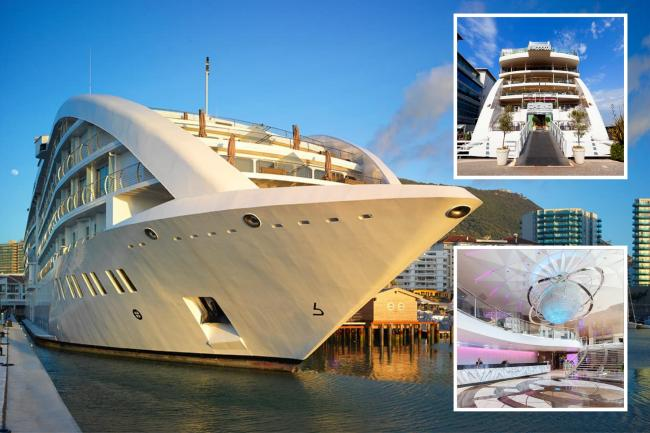 Inside the £120m superyacht where Rangers are staying in Gibraltar