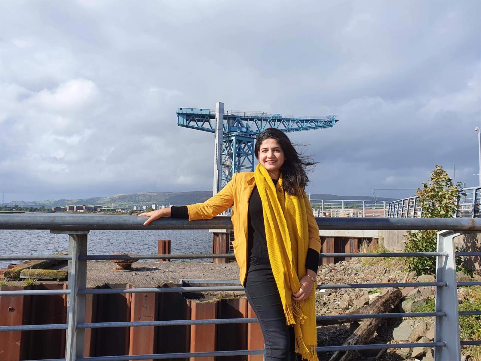 'Glasgow Girl' Roza Salih aims to be first refugee elected to Scottish Parliament