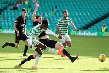 Jeremie Frimpong hails ice-cool Albian Ajeti as defender tips Celtic to extend winning run