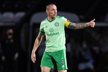 Celtic skipper Scott Brown addresses Neil Lennon's selection policy