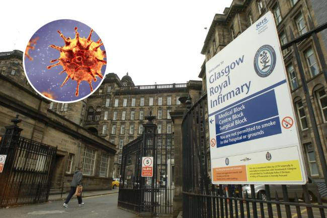 Staff at Glasgow Royal Infirmary self-isolating after 'small' COVID-19 outbreak
