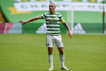 Scott Brown insists nobody at Celtic is talking about 10-in-a-row