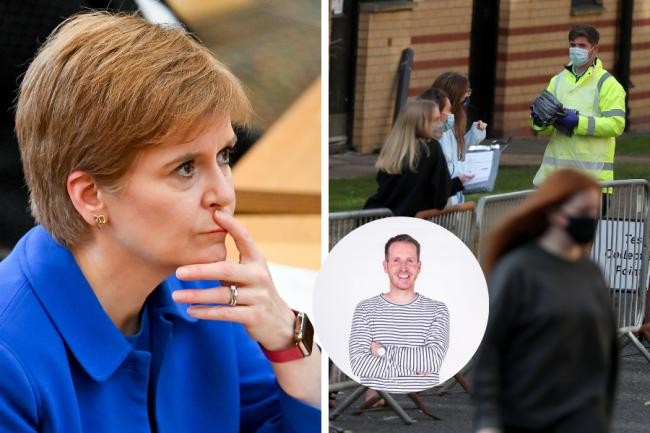 Nicola Sturgeon: 'My student nephew won't be telling folk who his auntie is...'