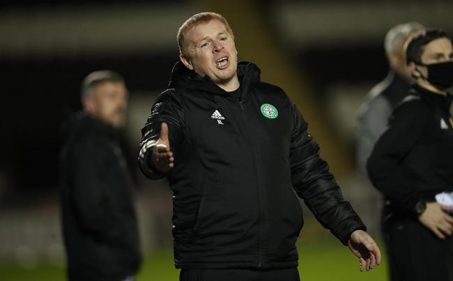 Neil Lennon wasn't happy with criticism of Celtic after the win over Riga in midweek.