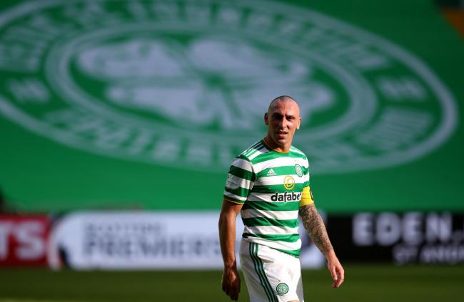 Celtic captain Scott Brown. Photo: Andrew Milligan/PA Wire.