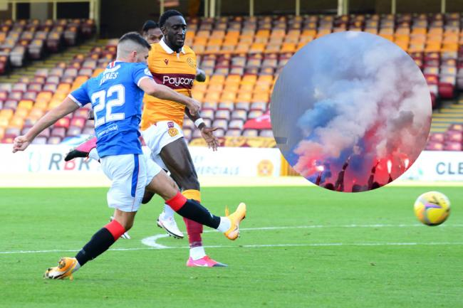 Three men arrested in Motherwell after Rangers game at Fir Park
