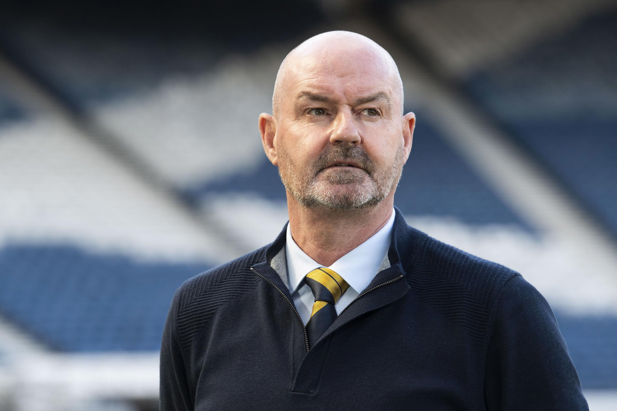 Steve Clarke defends 'oval peg' Scott McTominay as he says Manchester United man can play at the back for Scotland