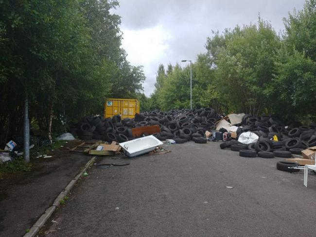 'Positive' line of police inquiry being followed into massive Drumchapel tyre dump