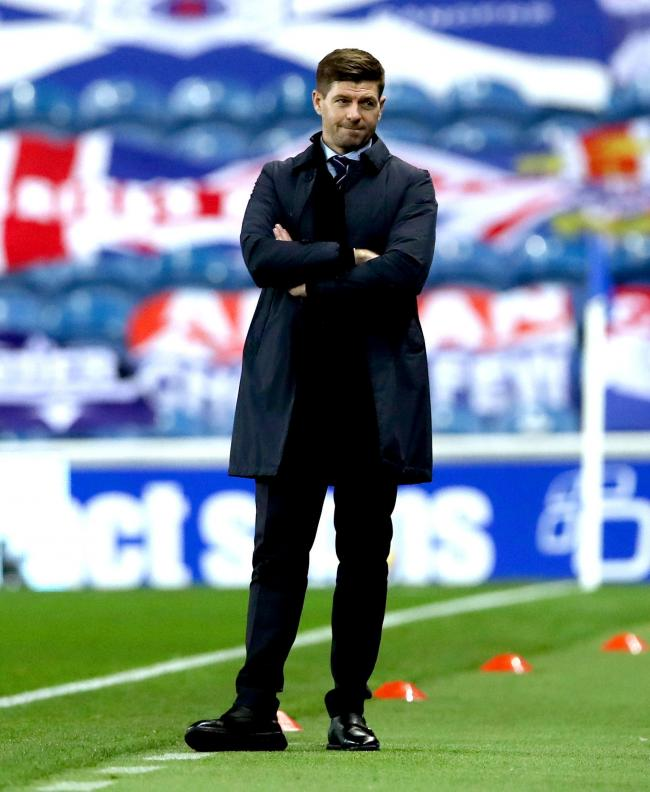 Rangers manager Steven Gerrard. Photo: Ian MacNicol/NMC Pool/PA Wire.