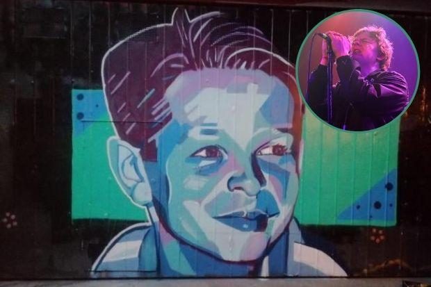 Sam Hannah passed away earlier this year, with brother Liam hosting a charity livestream in his honour. Sam's mural was painted by his cousin - Art by Dev - in Australia