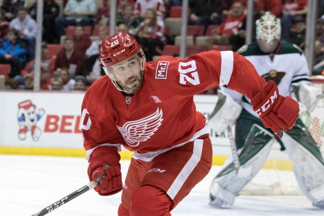 Drew Miller played for the Detroit Red Wings before joining Braehead Clan