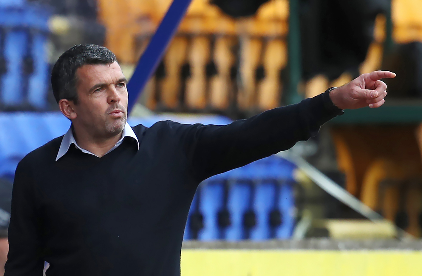 The arrival of Guy Melamed has St Johnstone's strikers on their toes, says Callum Davidson
