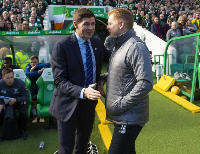 Neil Lennon and Steven Gerrard are due to meet again at Ibrox in early January.