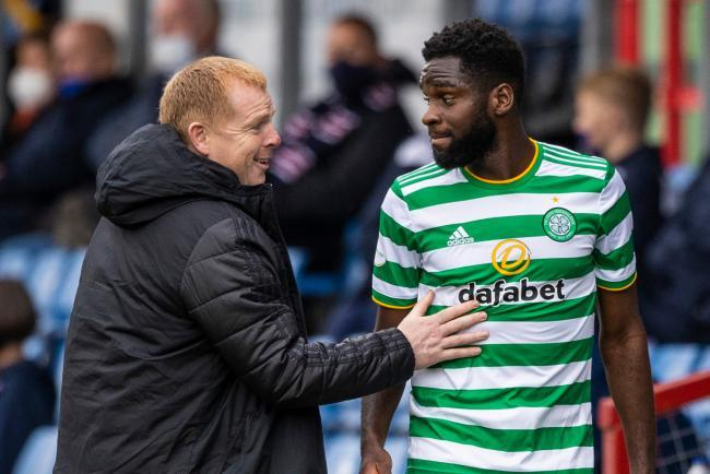 Odsonne Edouard back in Glasgow ahead of Rangers clash following Covid-19 diagnosis