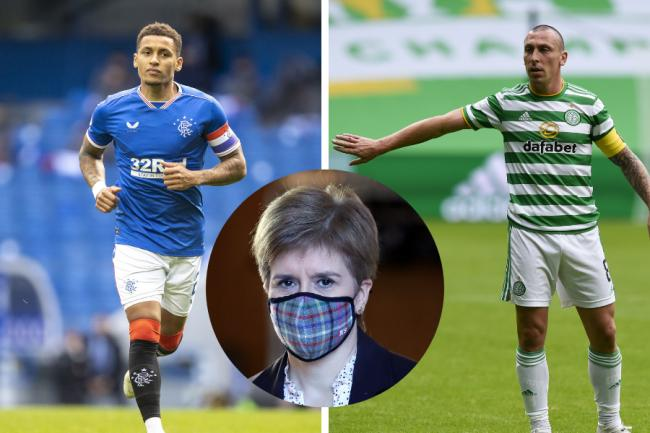 'Not the biggest sacrifice I've asked': Nicola Sturgeon urges fans not to gather or travel to watch Old Firm on TV