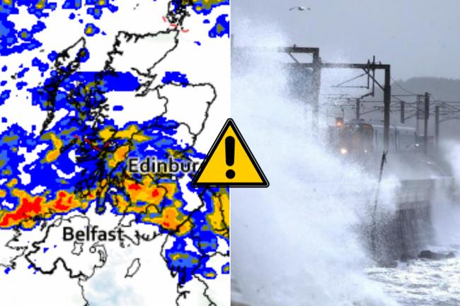 Scots braced for torrential rain and flooding as 'danger to life' weather warning issued