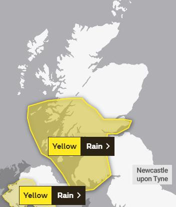 Glasgow Times: Source: Met Office