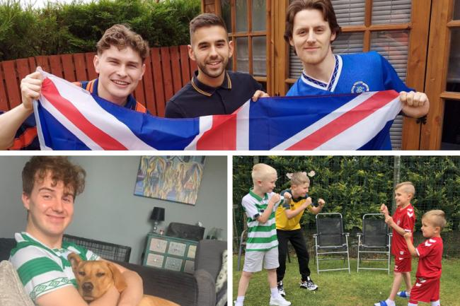 In Pictures: Here's how Scotland celebrated the Old Firm