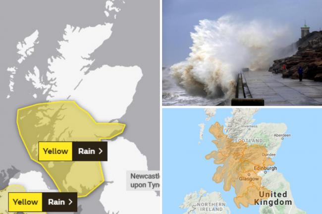 'Danger to life' weather warning comes into force across parts of Scotland for next 24 hours