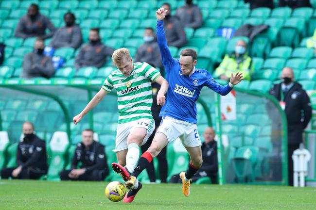 Stephen Welsh was given his second start for Celtic in the defeat to Rangers.