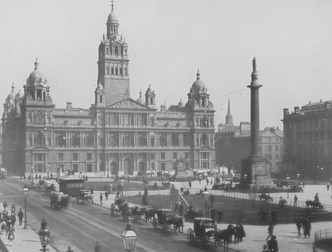 The rooftop home of Glasgow's own 'Statue of Liberty' - behind the scenes at the City Chambers