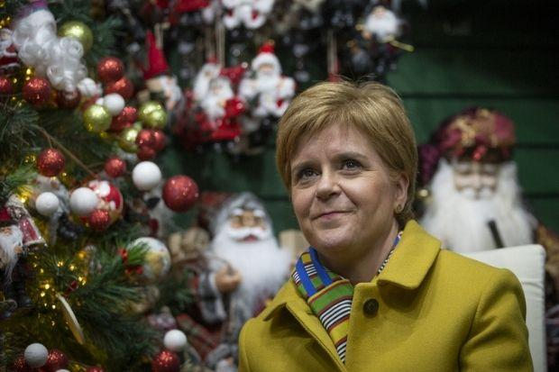 The First Minister said no country will have a normal Christmas