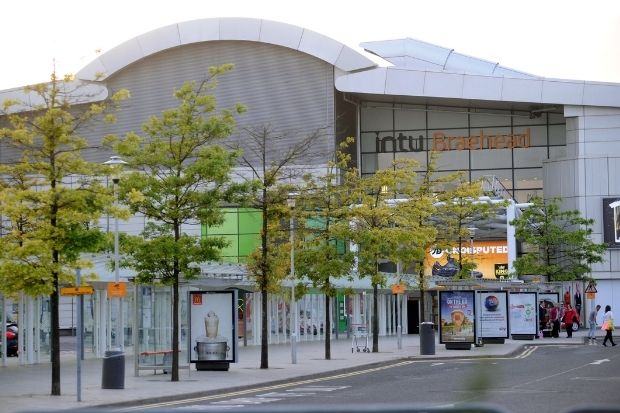 Hunt for security and cleaning staff at Braehead near Glasgow